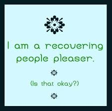 Recovering people pleaser